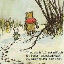 What day is it asked Pooh