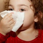 child with runny nose 2