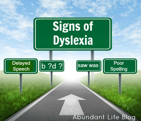 Think, Warning signs of dyslexia in adults